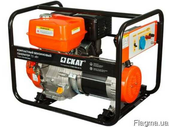 Бензиновый генератор УГБ-7500 Basic 7.5 кВт