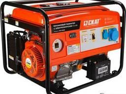 Бензиновый генератор УГБ-7500Е 7.5 кВт