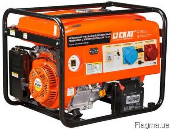 Бензиновый генератор УГБ-7500ЕT/7,5кВт 7.5 кВт