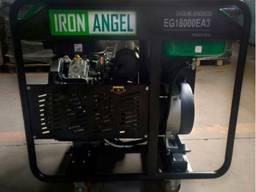 Бензиновий електрогенератор Генератор Iron Angel EG 15000 E
