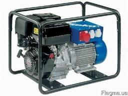 Бензиновый генератор трехфазный с электростером geko 6400ed