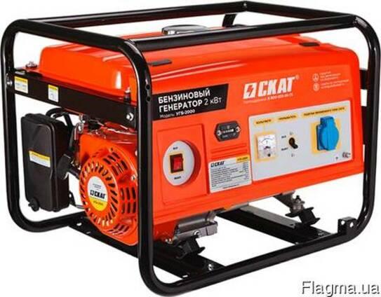 Бензиновый генератор УГБ-2000 2 кВт