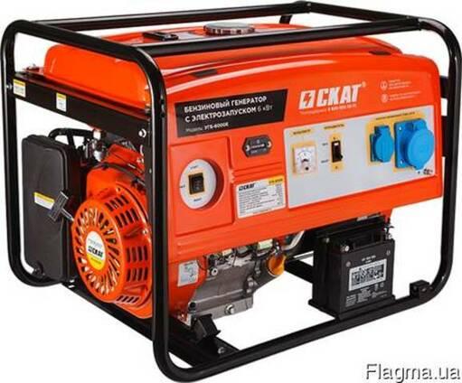 Бензиновый генератор УГБ-6000Е 6 кВт