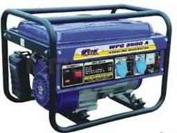 Бензиновый однофазный генератор WERK WPG 3600 А (с ручным пу