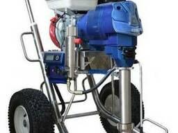 Мощный бензиновый окрасочный аппарат EGP6300 макс сопло 0, 37