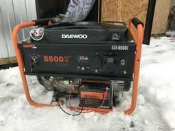 Бензогенератор daewoo 5500