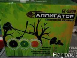 Бензокоса Аллигатор БГ-3900 2ножа 1леска 1 паук