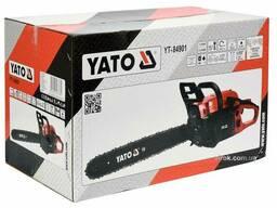 "Бензопила ланцюгова YATO 45.1 см³ 1.8 кВт шина- 16"" (36 см)"