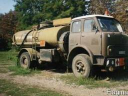 Бензовоз МАЗ 5334 активный: закачка, выкачка.