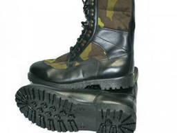 Берцы армейские чешский камуфляж