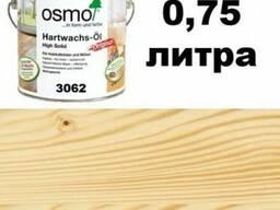 Бесцветное мат. масло для дерев. пов-стей OSMO(3062), 0,75л