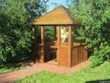 Туалет деревянный - фото 2
