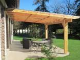 Беседки , навесы, перголы, деревянные столы, изделия под заказ - фото 8