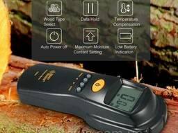 Бесконтактный влагомер Smart Sensor AS981 для древесины и. ..
