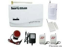 Беспроводная GSM сигнализация для дома, дачи 433 Mhz