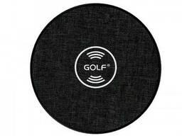 Беспроводная зарядка Qi Golf GF-WQ4 |1. 5A, 10W|. Black