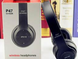 Беспроводные Bluetooth стерео наушники P47
