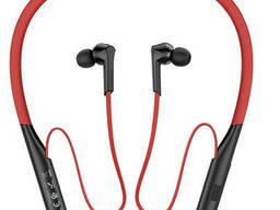 Беспроводные наушники Bluetooth HOCO ES33 Mirth sports. Red-Black