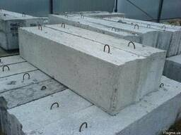 Фундаментные блоки ФБС 3,4,5,6/Фундаментні блоки. Ціна. .