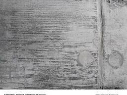 Бетон и железные панели - декоративная штукатурка