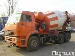 Бетон с доставкой Киев и Киевской области