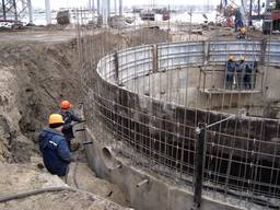 Строительство пожарных резервуаров и очистных сооружений