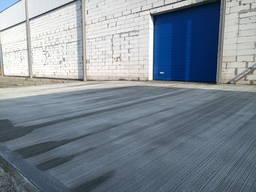 Бетонирование площадок бетонная площадка