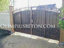 Бетонный забор - фото 8
