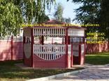 Самый дешёвый забор это бетонный наборной забор (еврозабор) - фото 2