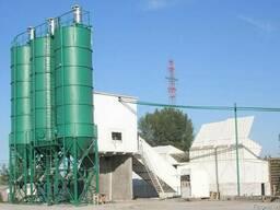 Бетонный завод СБ-251Н производительность 80 м³/ч