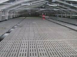 Бетонные щелевые полы 1000*500*100 мм купить