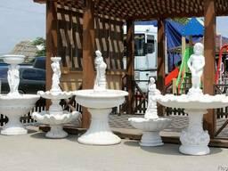 Бетонные фонтаны. Декоративные садовые фонтаны из бетона