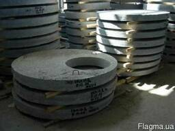 Бетонные плиты-перекрытия на колодец 1ПП 20-1