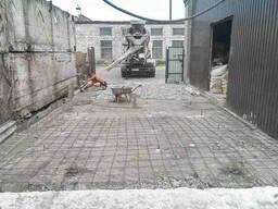 Бетонные работы: армопояс, бетонные лестницы