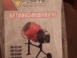 Бетономешалка 650Вт 160л/128л FORTE EW 8160Р