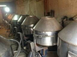 Бетономешалка из нержавейки для пищевой промышленности 320 л