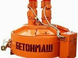 Бетоносмеситель планетарно-роторный СБ-242-10 объём 3000 л