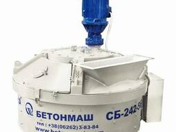 Бетоносмеситель планетарно-роторный СБ-242-5К объём 560 л