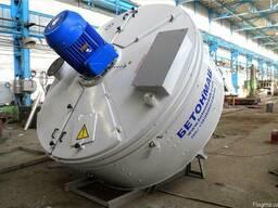 Бетоносмеситель принудительного действия СБ-247 объём 2250 л