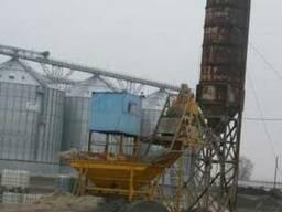 Бетоносмесительная установка, БСУ, мобильный бетонный завод
