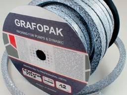 Безасбестовая сальниковая набивка Grafopak GRP 420
