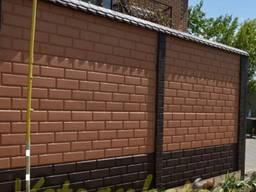 Безвоздушная Покраска еврозаборов шифера крыш помещени фасад