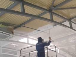 Безвоздушная Покраска Фасадов Крыши Цехов Гаражей Заборов - фото 6
