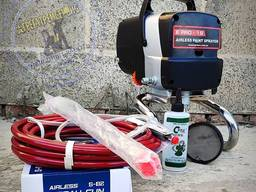 Безвоздушный краскопульт высокого давления E Pro-19 - DIY