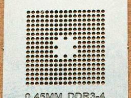 BGA трафарет 0,45mm DDR3-4