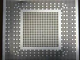 BGA трафарет 0,5mm Nvidia GF100-030-A3