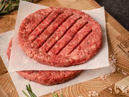 Бифштексы для бургера из мяса дичи