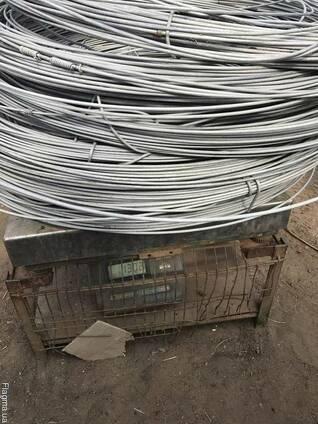 Биметаллическая сталемедная сталеалюминиевая проволока