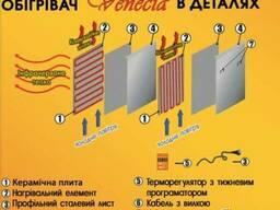 Био-конвектор ПКК 1350W Е (120см х 60см)