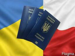 Биометрический загранпаспорт.Виза в Польшу